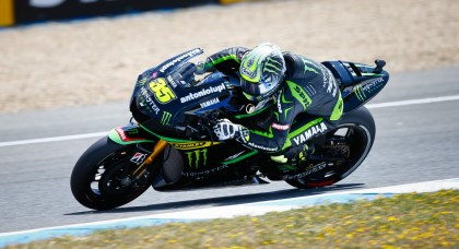 Cal Crutchlow had a good race. He's been a bit banged-up lately, but he's fighting hard to prove he's worthy of a factory bike. Photo: MotoGP