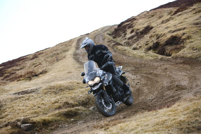 Perfectly happy on smoother gravel, this is about the limit of the comfort zone for the XC