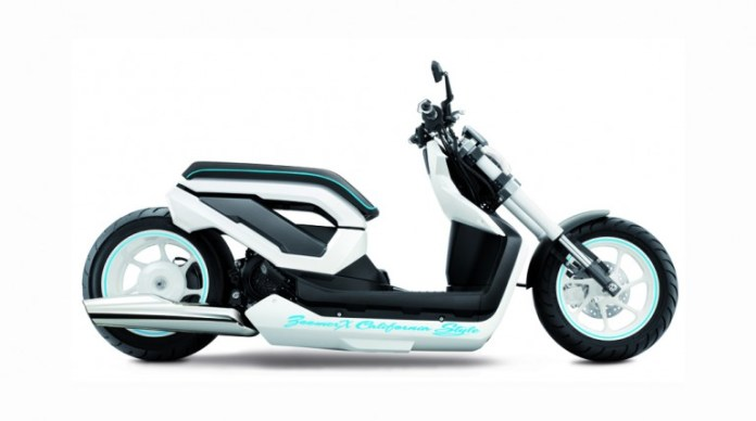 It's hardly a nimble-looking city runabout, but this is Honda's chopped scooter concept from Thailand. Photo: Gizmag