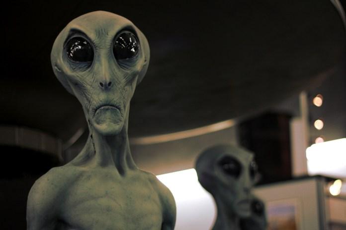 Aliens are big business in Roswell. Photo: Zac Kurylyk