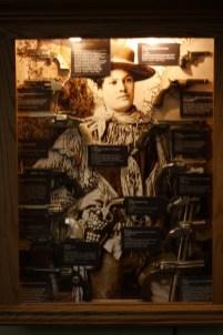 Western paraphernalia in the Hubbard Museum. Photo: Zac Kurylyk