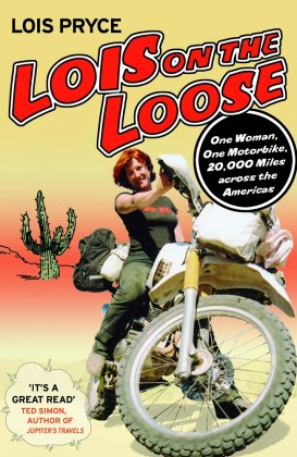 In her first book, Pryce even rode through a bit of Canada, although her lack of insurance caused a bit of trouble.