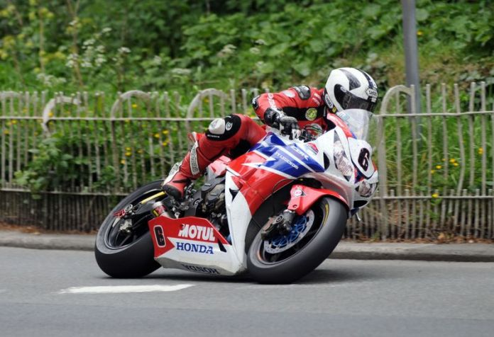 Michael Dunlop won four major events at the Isle of Man this year. Photo: TT Legends