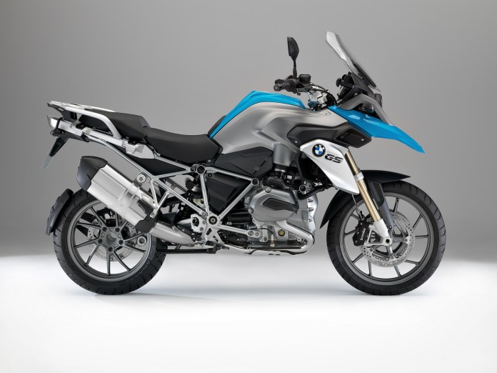 The R 1200 GS was BMW's biggest seller for 2013.