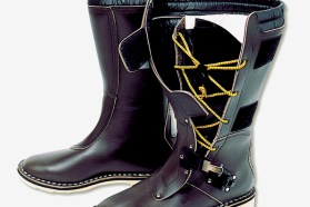 Combat touring boots