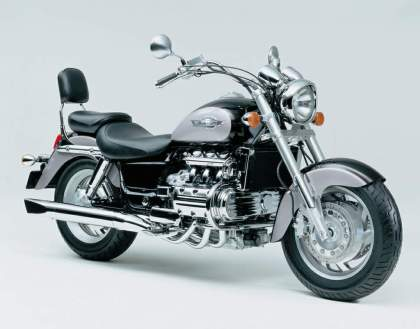 Remember this bike? It's Honda's F6C Valkyrie, a cruiser based on the Gold Wing. It's no longer in production.