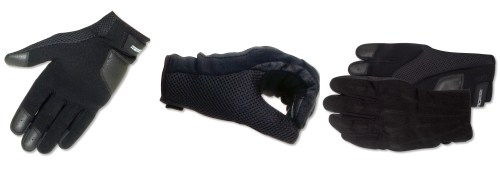 Aerostich's Hot Weather Vegan gloves contain no leather - hence the name.