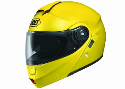 Warren is excited to try the new Neotec from Shoei; he's been a longtime fan of their Multitec series.