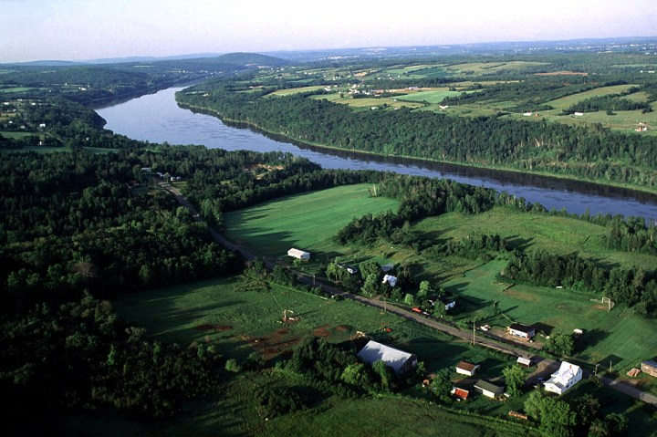 The Fredericton-Moncton route includes plenty of riverside touring along the St. John. Photo: Andre Gallant/NB Images