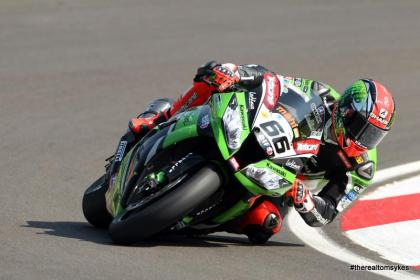 It was a great weekend for Kawasaki rider Tom Sykes. Photo: Facebook