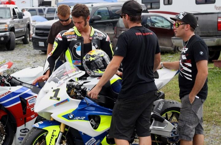 Jordan Szoke keeps Parts Canada sponsorship