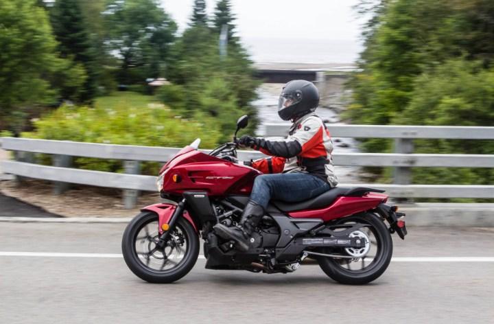 Honda CTX700 Launch