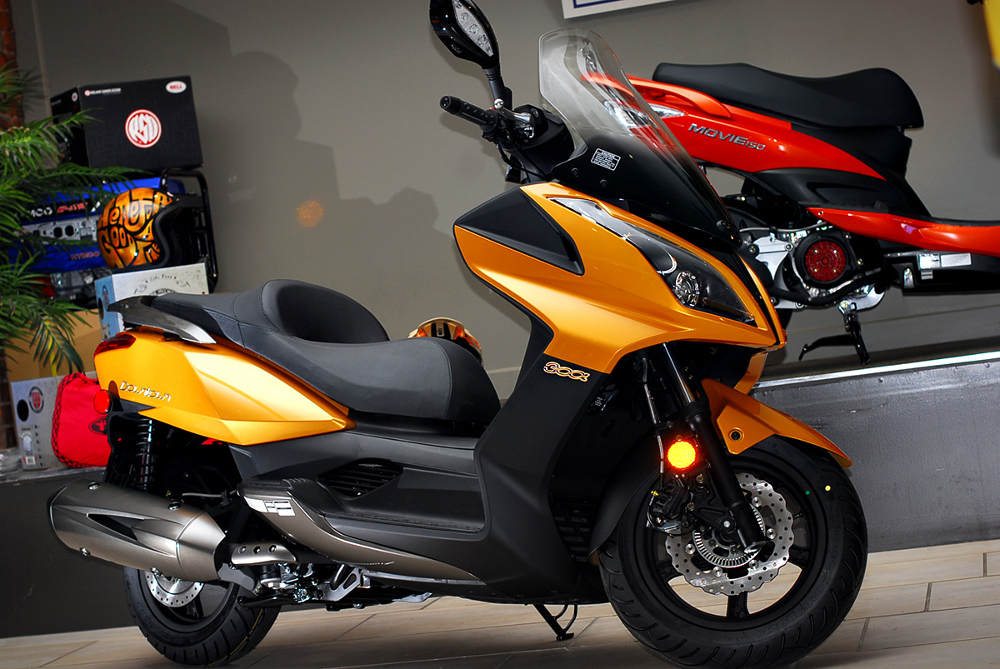 report card: kymco downtown 300i | canada moto guide