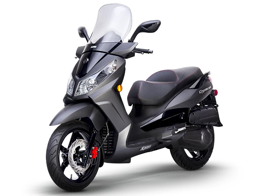 nouveaux scooters sym 50 et 300 pour le canada canada moto guide. Black Bedroom Furniture Sets. Home Design Ideas