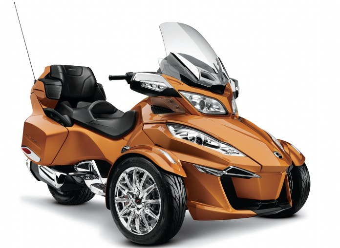 Here's the 2014 Can-Am Spyder RT.
