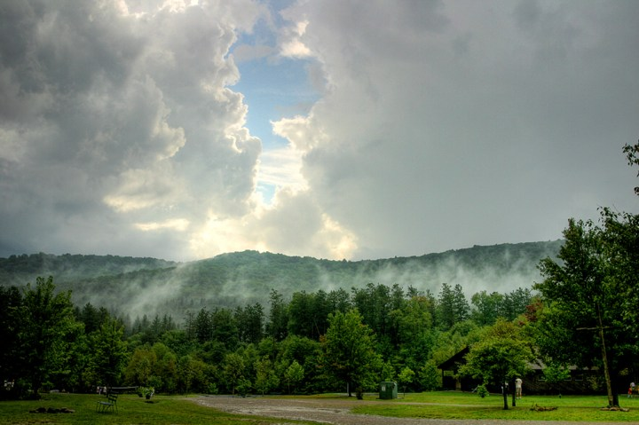 Mt. Tuscarora in Allegany State Park. Photo: Tom Murphy VII