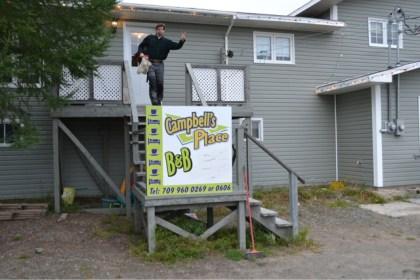 Overnight accommodations in Labrador. Photo: Big Land ADV Films