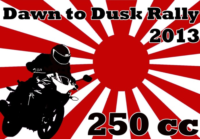 The Dawn to Dusk rally runs tomorrow, from sun-up to sun-down.
