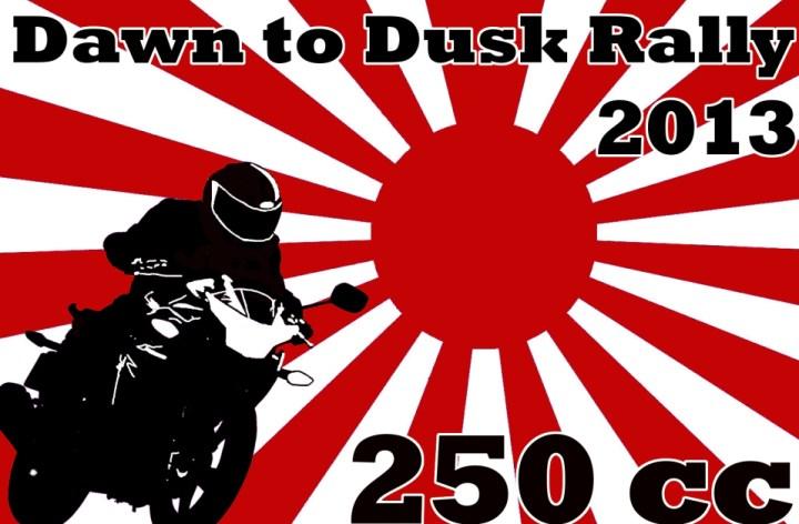 One week until Dawn to Dusk Rally!