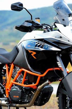 Once aboard the bike, the levers, bars and footpegs are adjustable to a rider's preferences.