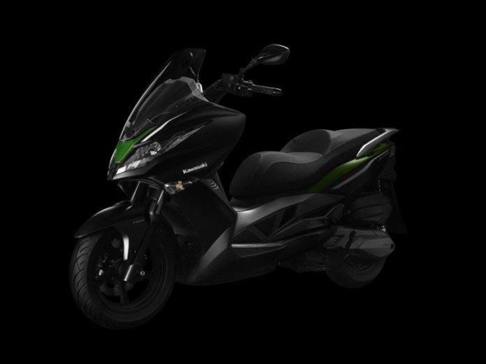 Here's the 2014 Kawasaki J300 ... with help from Kymco