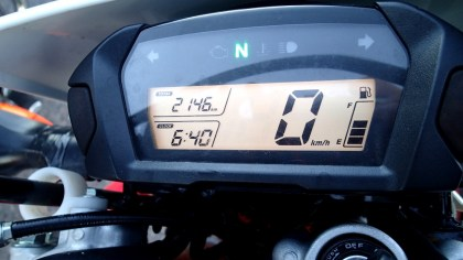 Rob's arrival time - 6:40 p.m., just under 12 hours. Photo: Rob Harris
