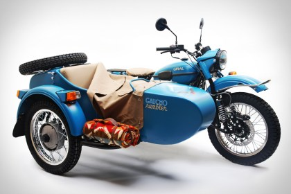 If a 2WD sidecar rig is more your style, check out Ural's new Gaucho limited edition rig.