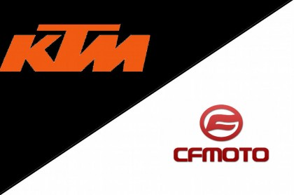 From reports we've heard, KTM is linking up with CFMoto for some made-in-China production.