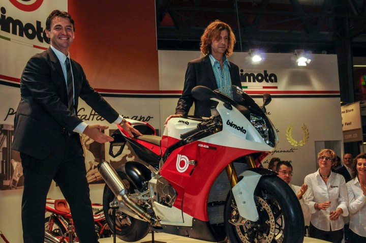 Now under Swiss ownership, Bimota unveiled their new BB3 at EICMA.