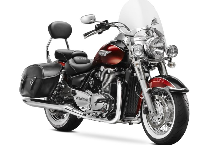 EICMA: Triumph announces touring cruisers, says a 250 is on the way