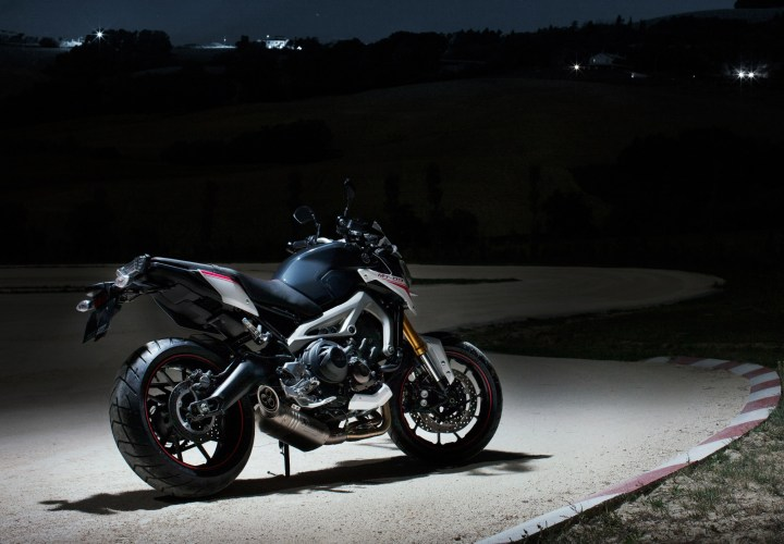 It's that time of year, when all the manufacturers drop their new models ... like this hot-rodded FZ-09 from Yamaha.