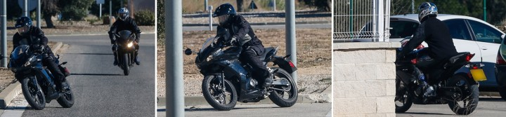 A German mag has snapped photos of Triumph's new 250. Photo: Motorrad
