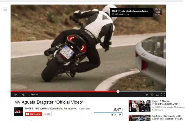 Video: MV Agusta Dragster