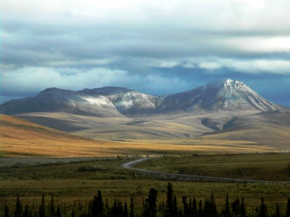 In four years, you'll be able to push past the end of the Dempster Highway (seen here) to Tuktoyaktuk, in the Northwest Territories on the edge of the Beaufort Sea. Photo: Pierre Racine/Wikimedia
