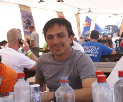 Juan Carlos Salvatierra was the hometown hero yesterday, but didn't have a great day of racing. Photo: Dakar