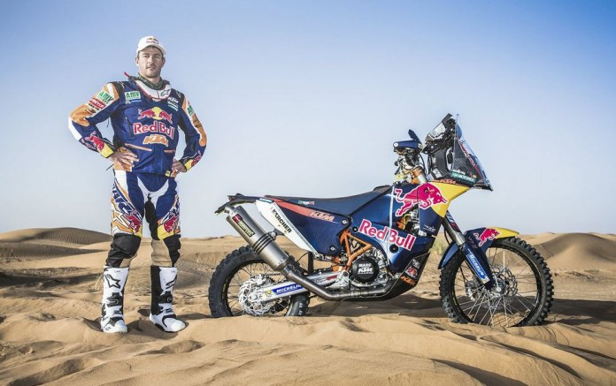 Marc Coma is now the man to beat at Dakar. Photo: KTM