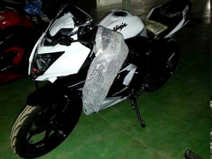 TMC Blog claims this is a new single-cylinder coming from Kawasaki. Photo: TMC Blog