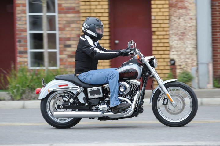 If you want a sporty bike, you should look elsewhere, but if you're looking for a cruiser, the Low Rider is the ticket.