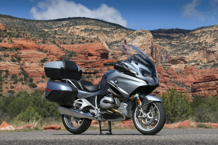 The R1200RT has a chassis that's very similar to the R1200 GS. Photo: Kevin Wing