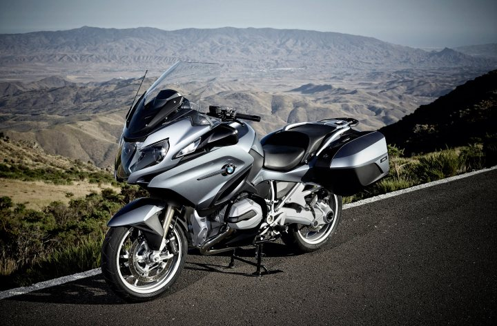 2014 BMW R1200RT Launch