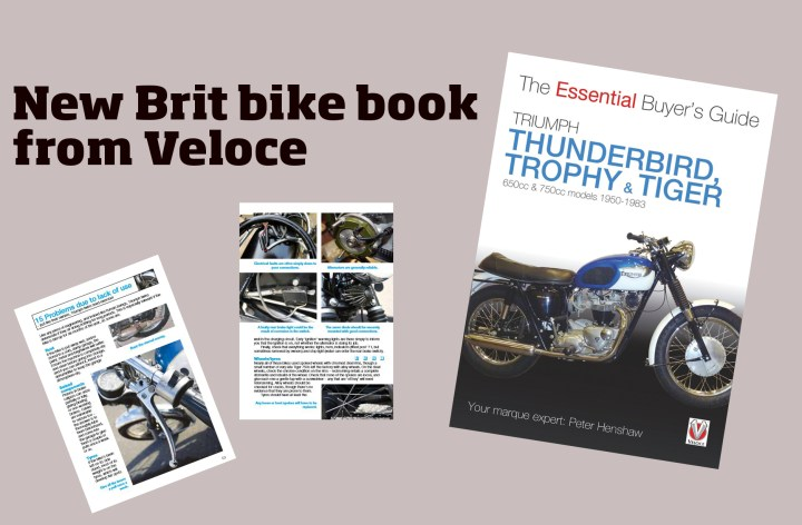 New book helps you pick out a vintage Triumph