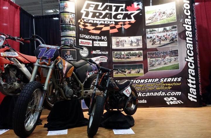 Deeley to sponsor Canadian flat track