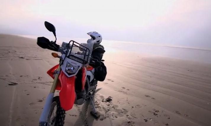 Steph Jeavons rides Iran