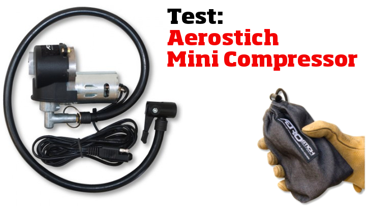 Test: Aerostich Mini Air Compressor