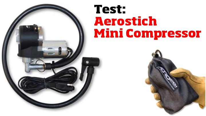 Test: Aerostich Mini Air Compressor