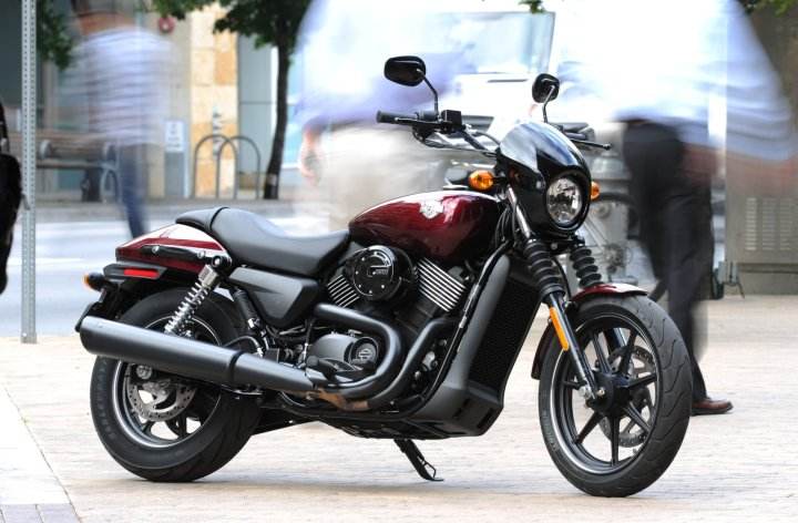Out on the Streets: Costa rides Harley-Davidson's new Street 750