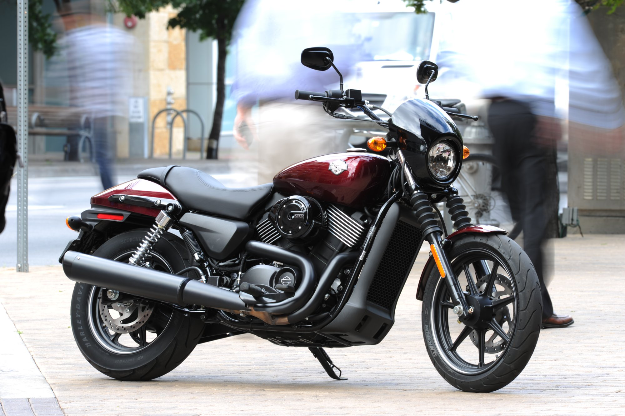Out On The Streets: Costa Rides Harley-Davidson's New