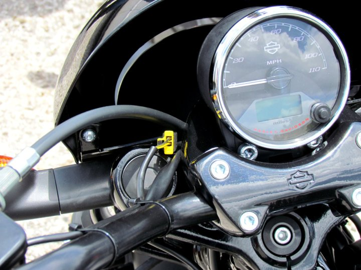 The hodge-podge of wiring detracted from Harley-Davidson's reputation for fit and finish. Photo: Costa Mouzouris