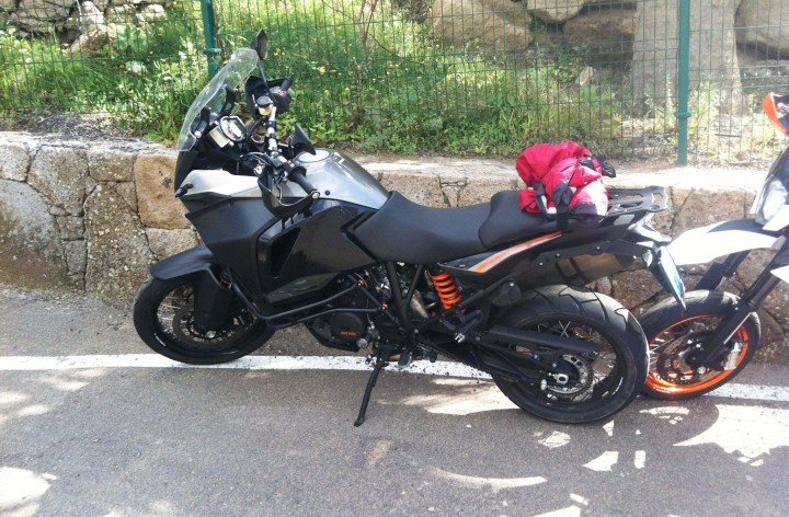 Revised KTM 1190 Adventure spotted