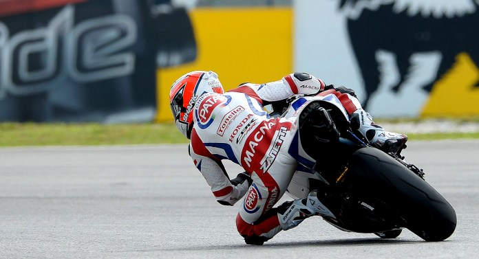 Michael Van Der Mark has a strong lead in the Supersport series now. Photo: WSBK